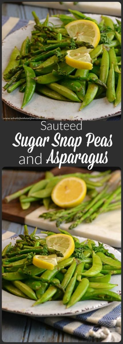 Sugar Snap Peas and Asparagus