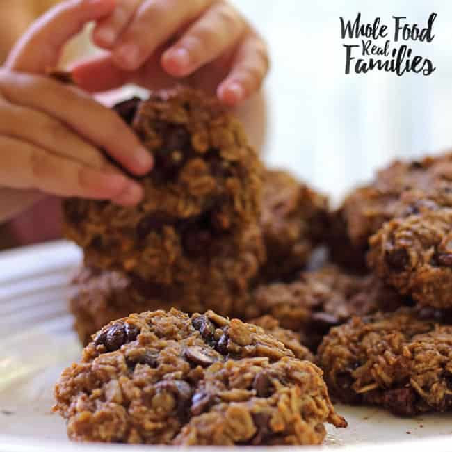 Healthy Oatmeal Breakfast Cookies My Nourished Home