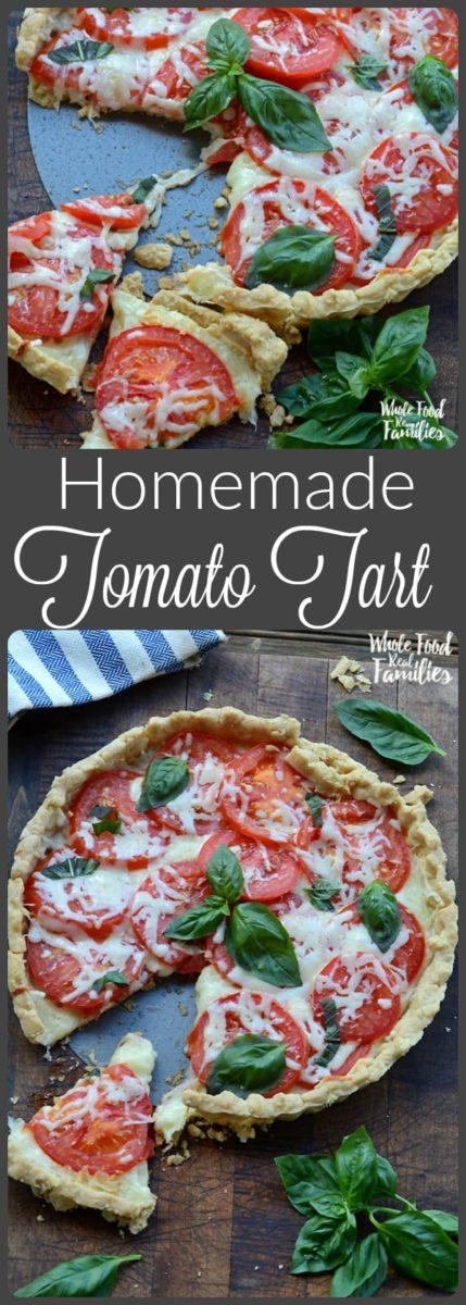 Homemade Tomato Tart