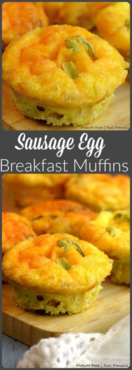 Sausage Egg Breakfast Muffins