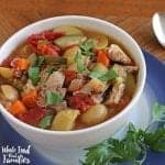 Crock Pot Vegetable Soup for Fall