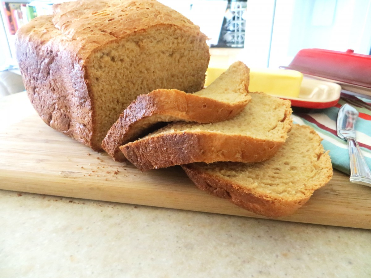 Whole Wheat Bread for the Bread Maker