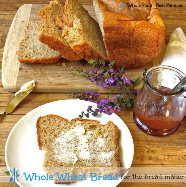 Whole Wheat Bread for the bread machine