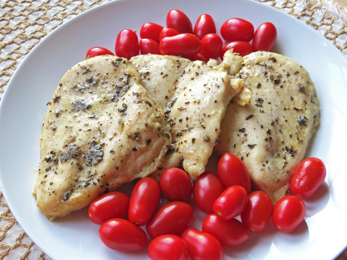 Roasted Chicken with Fall Herb Blend