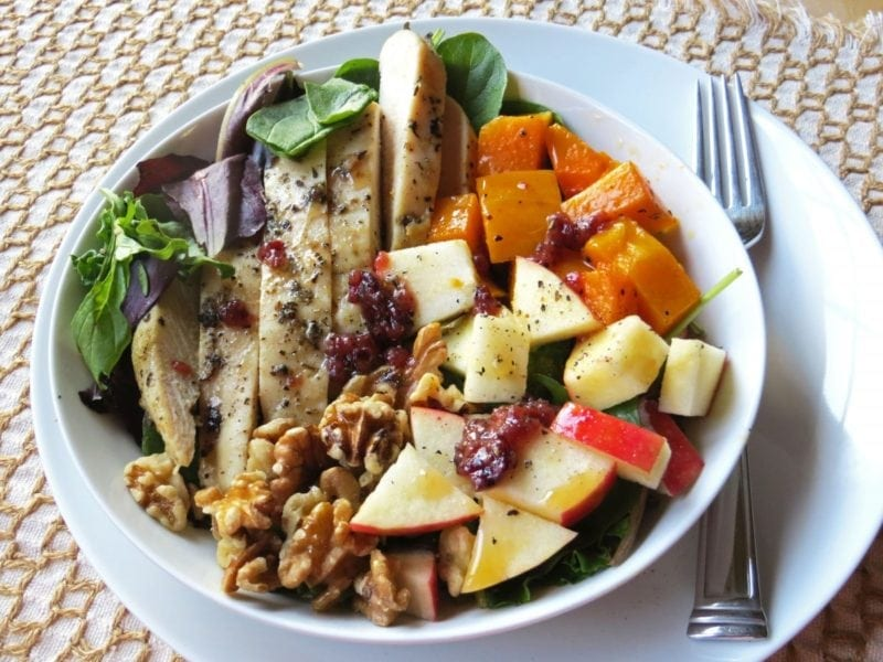 Welcome Fall Harvest Salad