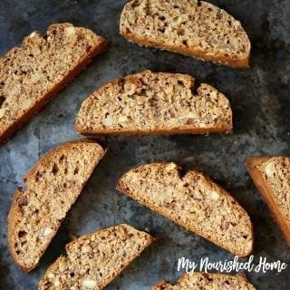 Almond Maple Biscotti