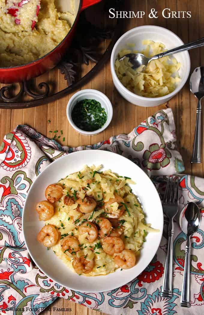 Lowcountry Shrimp and Grits.