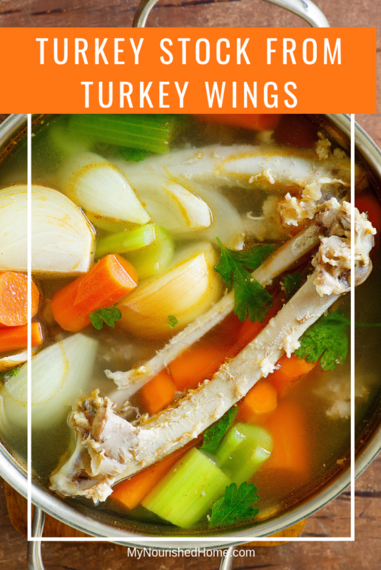 Turkey Stock for Cooking