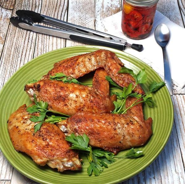 Turkey Wings & Turkey Stock
