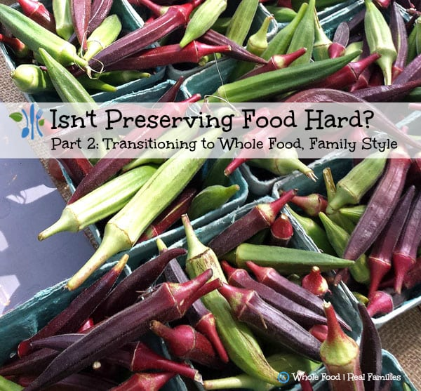 Isn't Preserving Food Hard?
