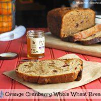 Orange Cranberry Whole Wheat Bread