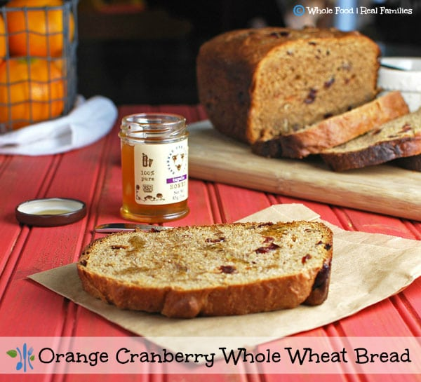 Orange Cranberry Whole Wheat Bread