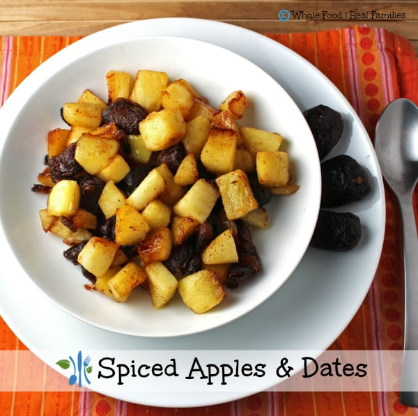 Spiced Apples and Dates