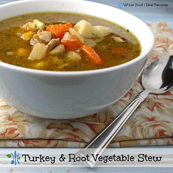 Turkey and Root Vegetable Stew