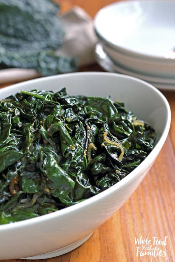 This sauteed kale recipe has none of the bite of some kale dishes but keeps all of the hearty, delicious flavor and nutrition.