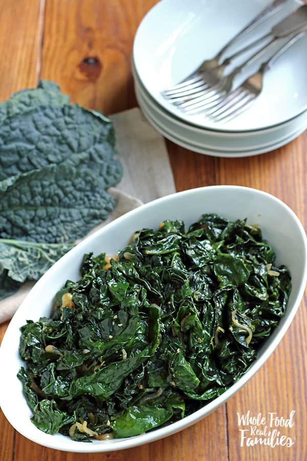 Learn to select and prepare sauteed kale for a delicious dinner side or main dish!