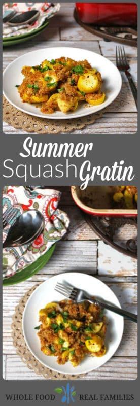 Summer Squash Gratin