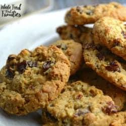 Cinnamon Maple Oatmeal Cookies