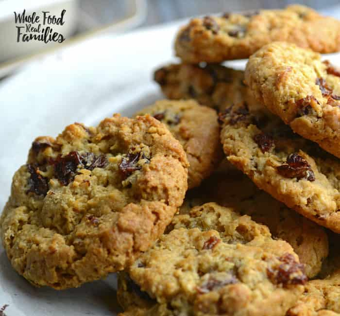 Cinnamon Maple Oatmeal Cookies | My Nourished Home