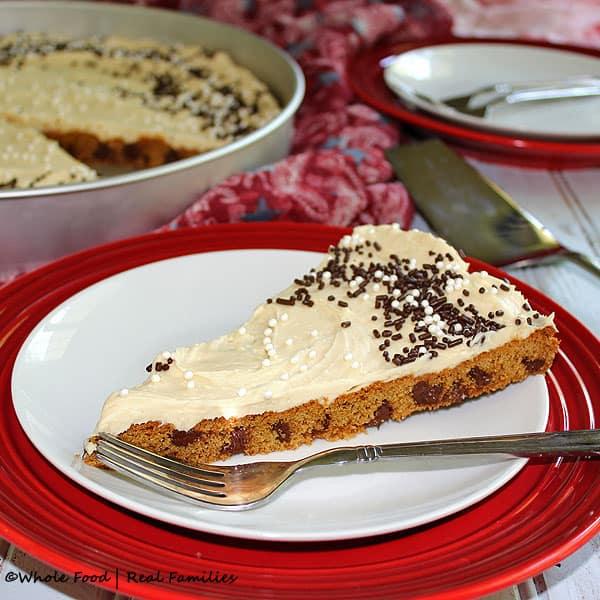 Chocolate Chip Birthday Cookie