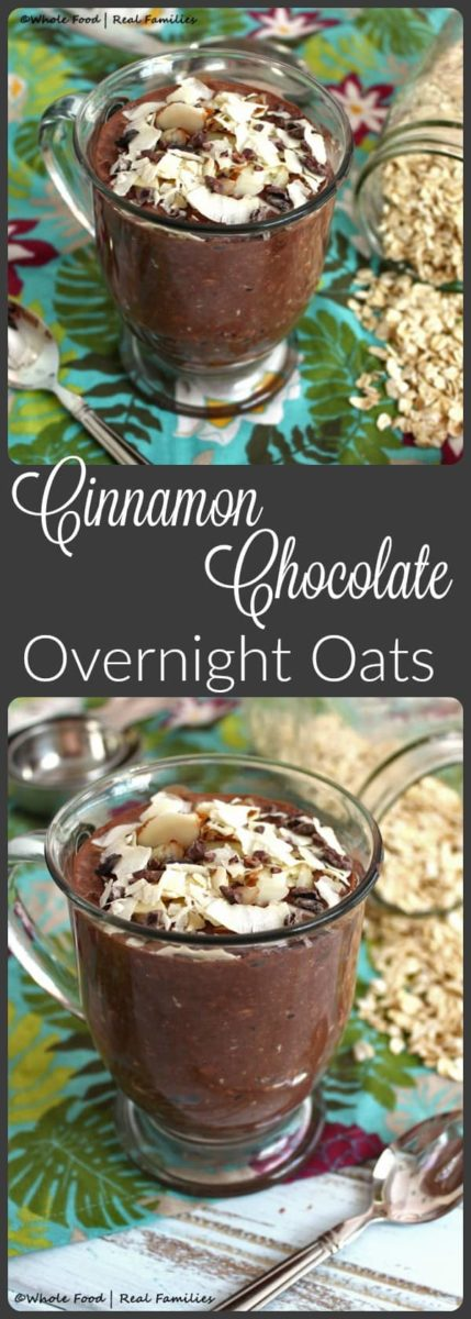 Cinnamon Chocolate Overnight Oats