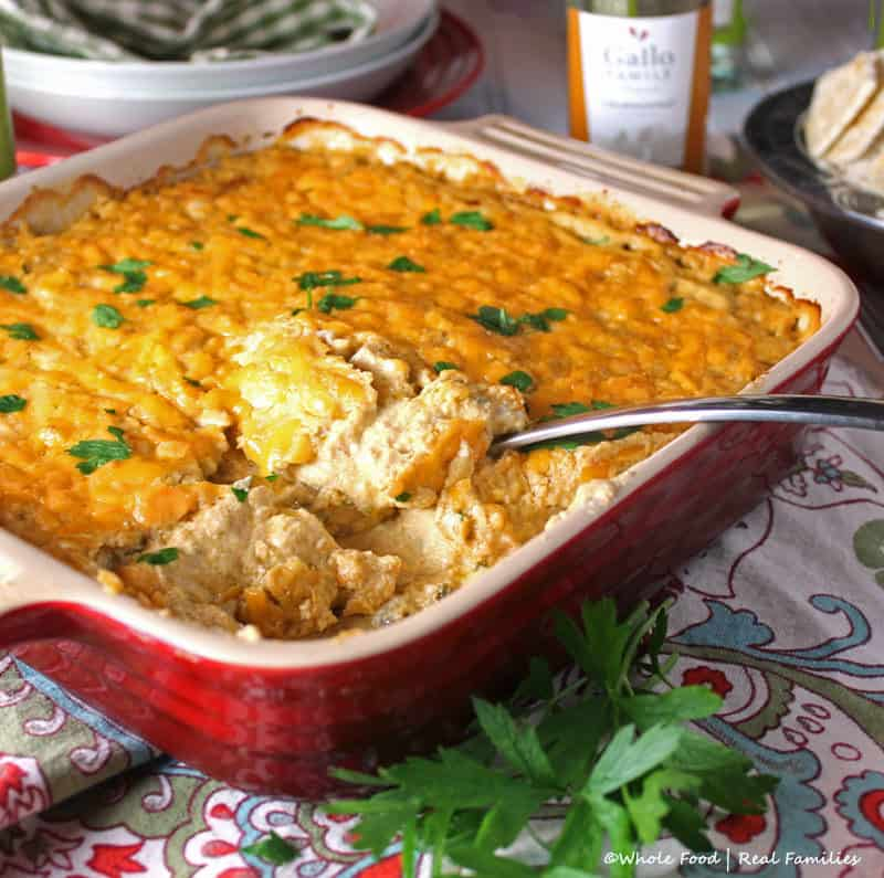 Buffalo chicken dip my nourished home buffalo chicken dip is a perfect recipe for your tailgating party delicious served as an forumfinder Choice Image
