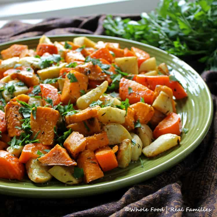 with this simple preparation of Roasted Root Vegetables . Sweet ...