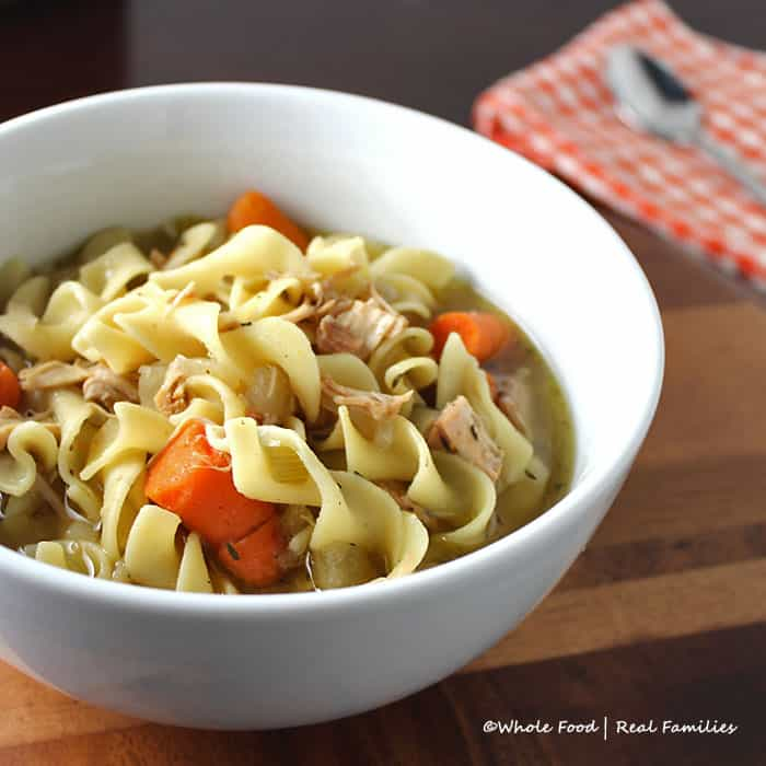 Slow cooker chicken noodle soup my nourished home slow cooker chicken noodle soup forumfinder