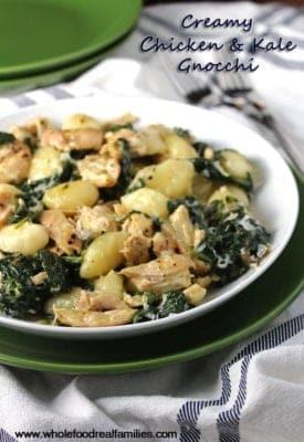 Creamy Chicken and Kale Gnocchi 750x1100 w url