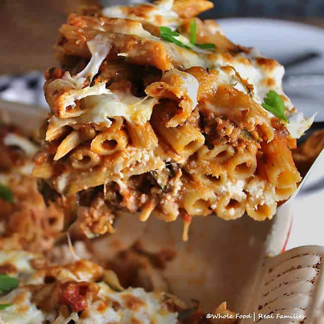 Baked Pasta with Zucchini