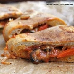 Grilled Vegetable Calzones