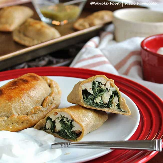 Whole Wheat Chicken And Kale Empanadas My Nourished Home
