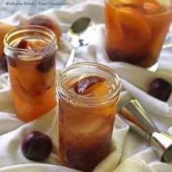 Peach and Plum Brandy Sangria from Whole Food | Real Families