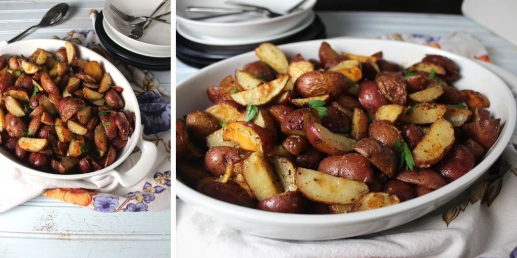 Flavorful roasted red potato recipe