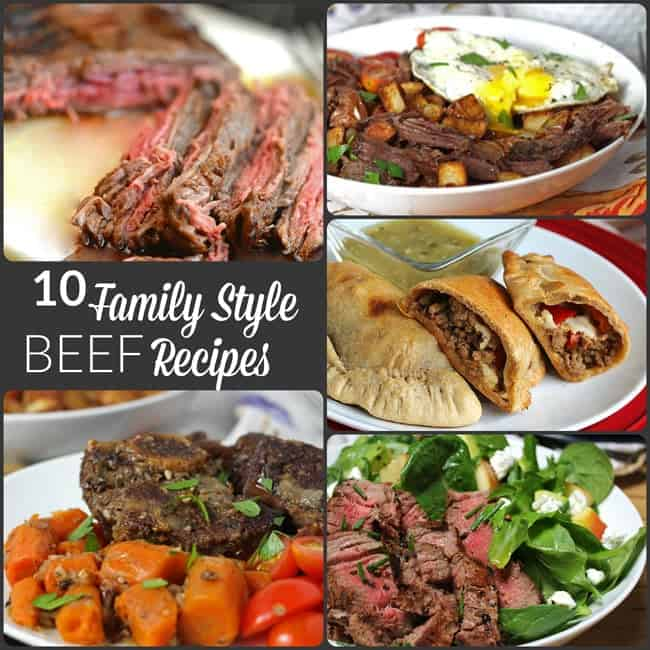 10 Family Style Beef Recipes