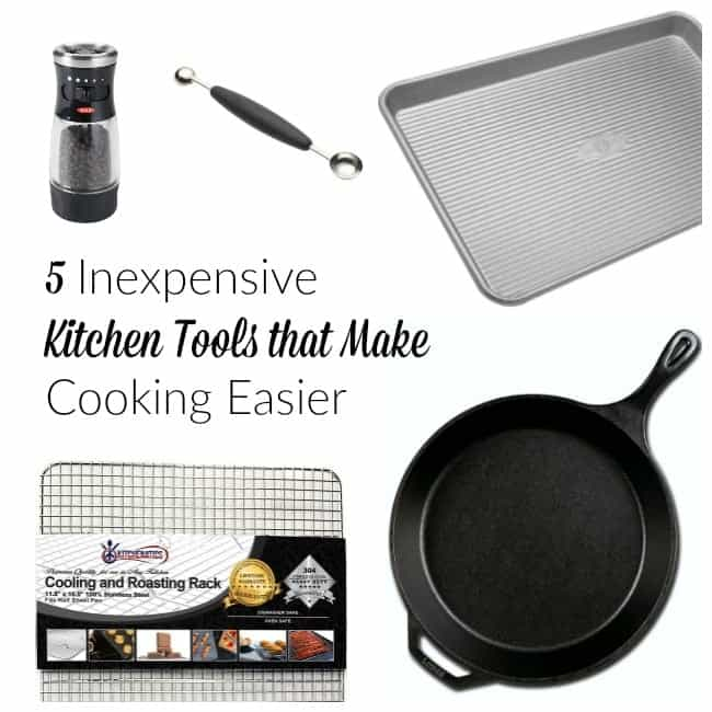 5 Inexpensive Kitchen Tools that make Cooking Easier