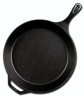 Lodge Cast Iron Skillet - The 5 Inexpensive Kitchen Tools that Make Cooking Easier