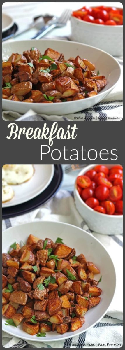 Really crisp breakfast potatoes that are soft on the inside and a little salty may be the best breakfast food ever... we've got the tip to make them just right!