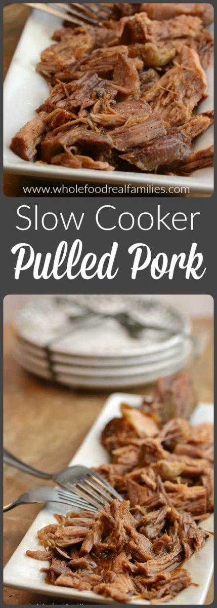 Slow Cooker Pulled Pork Pin