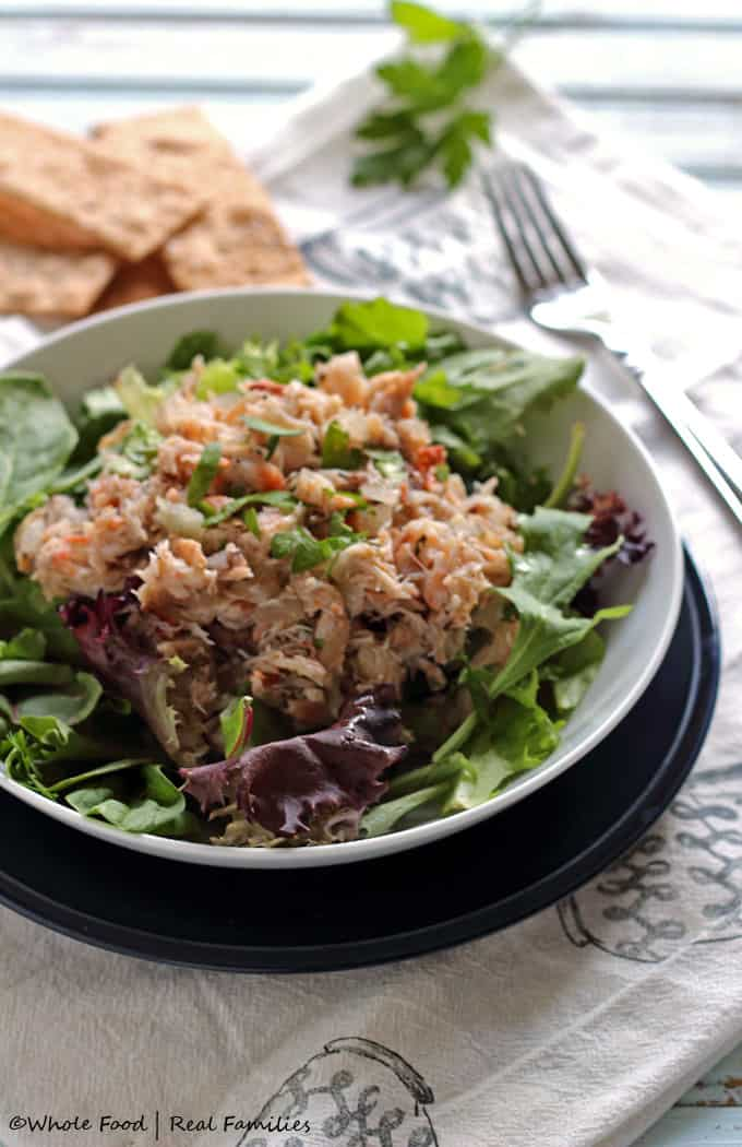 Blue Crab Salad with Herb Vinaigrette