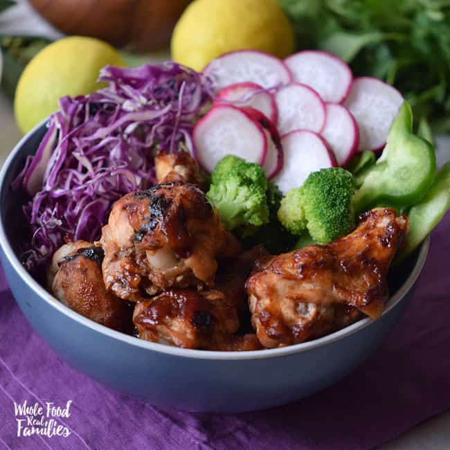 Chili Lime Chicken Bowls