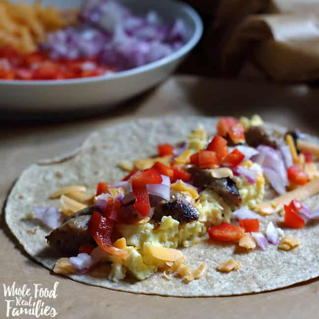 healthy breakfast burritos my nourished home
