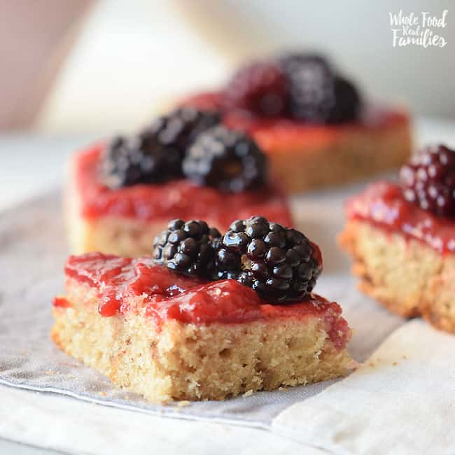 Jam and Oat Bars