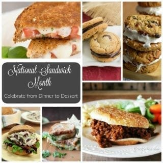 Celebrate National Sandwich Month from Dinner to Dessert