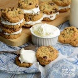 Oatmeal Cookie Sandwich