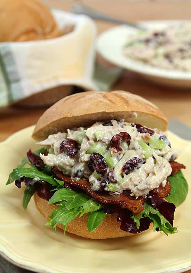 Marshall Field's Chicken Salad Sandwich for National Sandwich Month