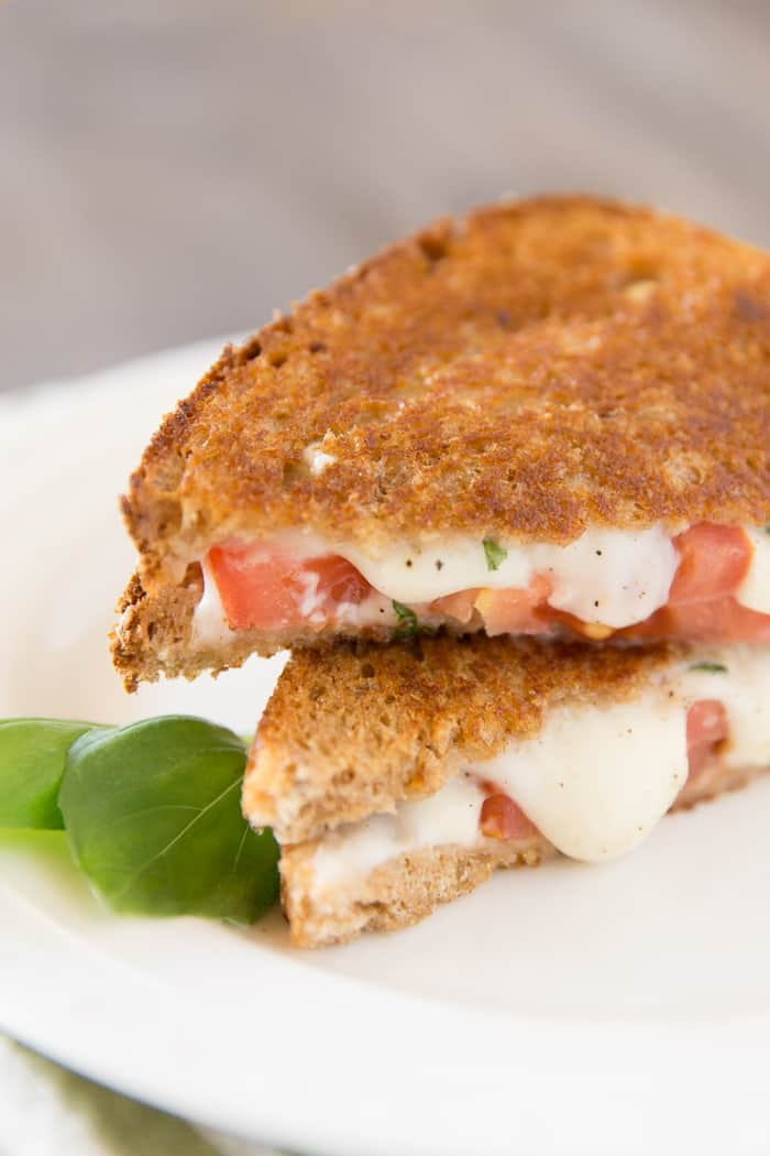 Grilled Caprese Salad for National Sandwich Month