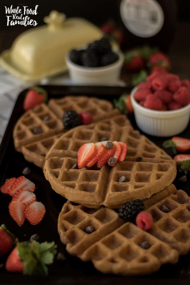 Chocolate Waffle Recipe for Breakfast or Dessert