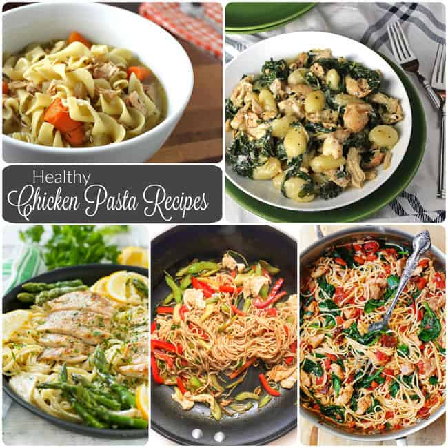 Healthy Chicken Pasta Recipes