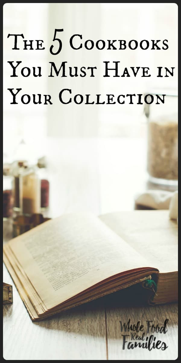 The 5 Cookbooks You Must Have in Your Collection